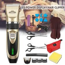 Cordless Men Electric Hair Clipper Trimmer Barber Shaver Beard Haircut  CN &