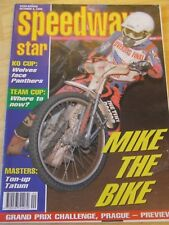 SPEEDWAY STAR MAGAZINE OCT 5 1996 KO CUP WOLVES FACE PANTHERS TON-UP TATUM MIKE