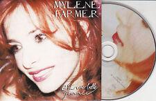 CD CARTONNE CARDSLEEVE 2T MYLÈNE FARMER C'EST UNE BELLE JOURNÉE DE 2002 TBE
