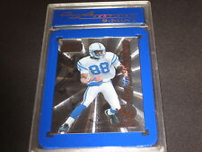 MARVIN HARRISON COLTS 1996 SELECT #91 ROOKIE NFL LEGEND AUTHENTIC CARD GRADED 9