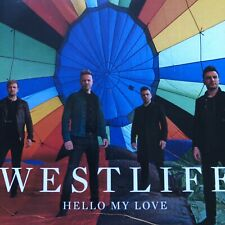 """WESTLIFE """"HELLO MY LOVE"""" VIRGIN RECORDS BRAZIL OFFICIAL 5 REMIX CD PROMO"""