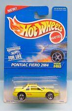 2612 HOT WHEELS / CARTE US / COLLECTOR 463 1995 / PONTIAC FIERO 2M4 1/64