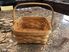 Longaberger 2001 Medium Basket With Swinging Handle
