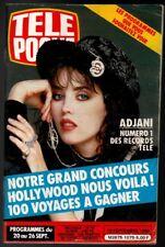 ▬►Télé Poche 1075 (1986) ISABELLE ADJANI_SERGE LAMA_DIANE TELL