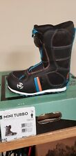 K2 Mini Turbo Youth Snowboard Boots NEW size 11c