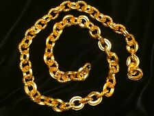 "MONEY CHAIN 22kt GOLD PLATED"" ATOCHA MUSEUM QUALITY"" JEWELRY 1715 FLEET ESCUDOS"