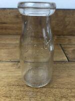 Vintage Scott Powell Milk Bottle Phila PA Half Pint Embossed