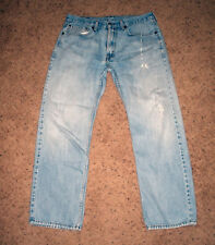 Levi's Levis 505 Jeans 34x30 Naturally faded and distressed