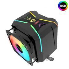 CPU Cooler RGB 4Pin Dual Fan Radiator for Intel LGA 1150 1151 1155 1156 & AMD