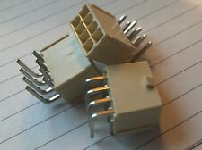 Molex Pcb Connector Header Ra 8 Position New Qty3