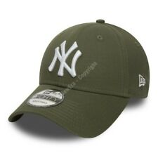 4d6c2423c40b3 Era 9forty Baseball Cap.new York Yankees MLB Army Green Strapback Hat 9s1