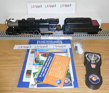 LIONEL #81269 PENNSYLVANIA BERKSHIRE LIONCHIEF STEAM ENGINE TRAIN O GAUGE REMOTE