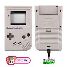RetroSix Gehäuse für GameBoy Classic DMG Standard Grau - IPS & CleanJuice Ready