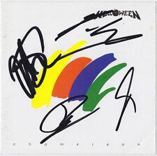 HELLOWEEN Chameleon - MICHAEL KISKE +3 Keeper of the Seven Keys Autograph SIGNED