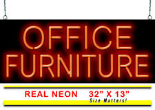 """Office Furniture Neon Sign 