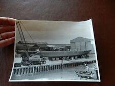 More details for old father thames faversham shipyard  london  1972  photograph