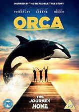 ORCA THE JOURNEY HOME JASON PRIESTLEY GRAHAM GREENE HF UK 2017 DVD NEW & SEALED