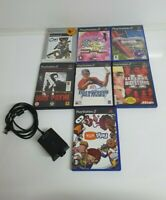 Playstation 2 PS2 Game Bundle, 7 games + eye toy - all tested and working