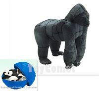 Gorilla Endangered Animals 4D 3D Puzzle Egg Realistic Model Kit Toy