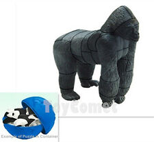 Gorilla Endangered Animals 4D 3D Puzzle Egg Realistic Model Kit Toy