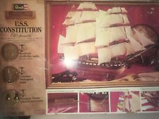 1978 Revell Museum Classic Uss Constitution Old Ironsides Model/Kit H391
