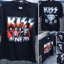 Kiss 2009 Tour T-Shirt Alive 35 Living Legends 1973 2008 Size L