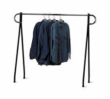 60 X 60 Inch Black Amp Chrome Single Rail Garment Rack