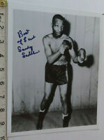 VERY RARE SANDY SADDLER HAND SIGNED PHOTO & COA - OFFERS ACCEPTED