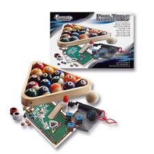 NEW Pool Snooker Billiards Accessories Starter Kit Balls Chalk Tips Holder Rack