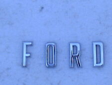 1957 57 FORD CAR CHROME F O R D  LETTERS FOR THE HOOD PANEL CUSTOM RANCHERO NEW