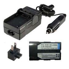 SB-LSM80 Battery&Charger for SAMSUNG SC-D353/D363/D364 VP-D351/D361 Digital Cam