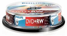 Philips Dvd-rw 120 minutes Vidéo 4 7 Go Vierge Disque 10 disques