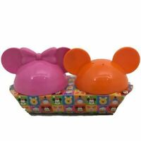 Mickey Mouse Mickey and Minnie Mouse Salt and Pepper Shakers