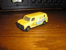 Nice Vintage Chevy Ford Dodge Passenger Panel Van with a Eagle Yellow