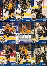 1999-00 BAP Be A Player Memorabilia Boston Bruins Complete Team Set (18)
