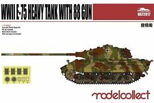 Modelcollect UA72017 1/72 German WWII E-75 Heavy Tank with 88 Gun