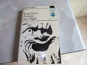 LONG DAY'S JOURNEY INTO NIGHT - EUGENE O'NEILL  - CAPE PAPERBACK BOOK (1976).