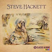 Steve Hackett 5 Classic Albums (Uk) CD NEW sealed