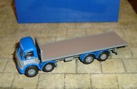 B - T MODELS - AEC MAMMOTH MAJOR TRUCK - 'RUSSELL OF BATHGATE' c1957-67 - 1:76