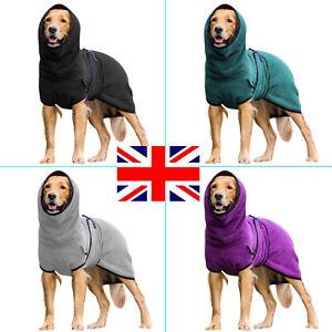 Pet Clothes Dog Towelling Drying Robe Comfy Sleepwear Coat Puppy Warm Apparel b