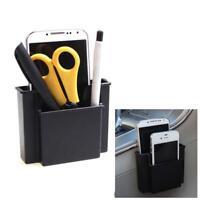 New Car Black Phone Charger Box Holder Pocket Organizer Car Seat Bag Storage Pop