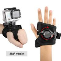 360°Rotation Hand Wrist Band Mount Strap Accessory for GoPro Hero 4/3+/1 Camera