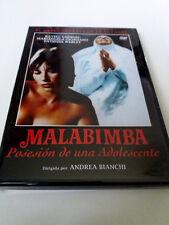 "DVD ""MALABIMBA POSESION DE UNA ADOLESCENTE"" COMO NUEVO ANDREA BIANCHI"