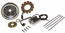 HARLEY COMPLETE 32A CHARGING KIT. ALL SHOVEL & EVO 1970-1999. STATOR, ROTOR, REG