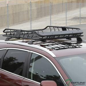 Topline For Honda Modular Roof Rack Basket Storage Carrier Fairing - Matte Black