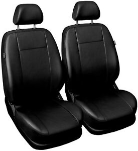 Front Leatherette seat covers fit Volkswagen Golf Mk4 1+1 black