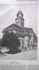 1908 99 Rathaus Artern / Berlin Wasserstraßen