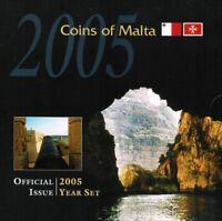 Malta Coin Set 2005