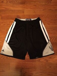 Toronto Raptors Reversible Practice Shorts Team Issued Game Worn 3XL NBA Adidas