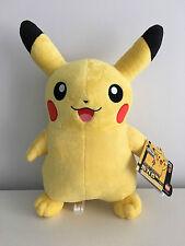 33cm Pokemon Pikachu Figure Soft Plush Toy Pillow Stuffed Animal Collect Gift